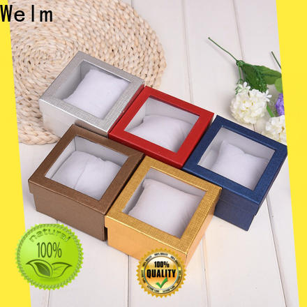 bow tied floor jewelry box satmp with red vinyl sticker for dried fruit