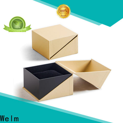 Welm packaging personalized cosmetic boxes manufacturer for tempered glass packing