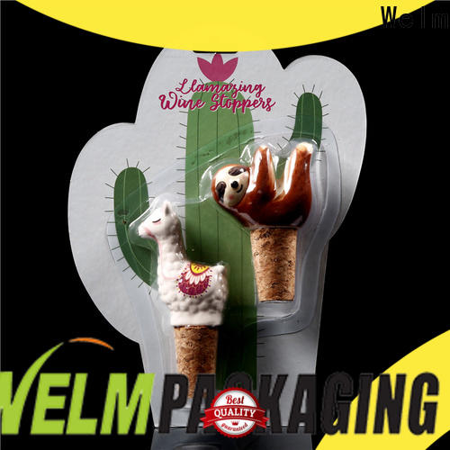Welm wheels blister card packaging factory for cosmetics and toy