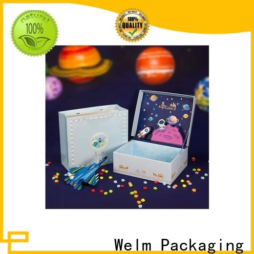 recycle white magnetic box handmade for business online