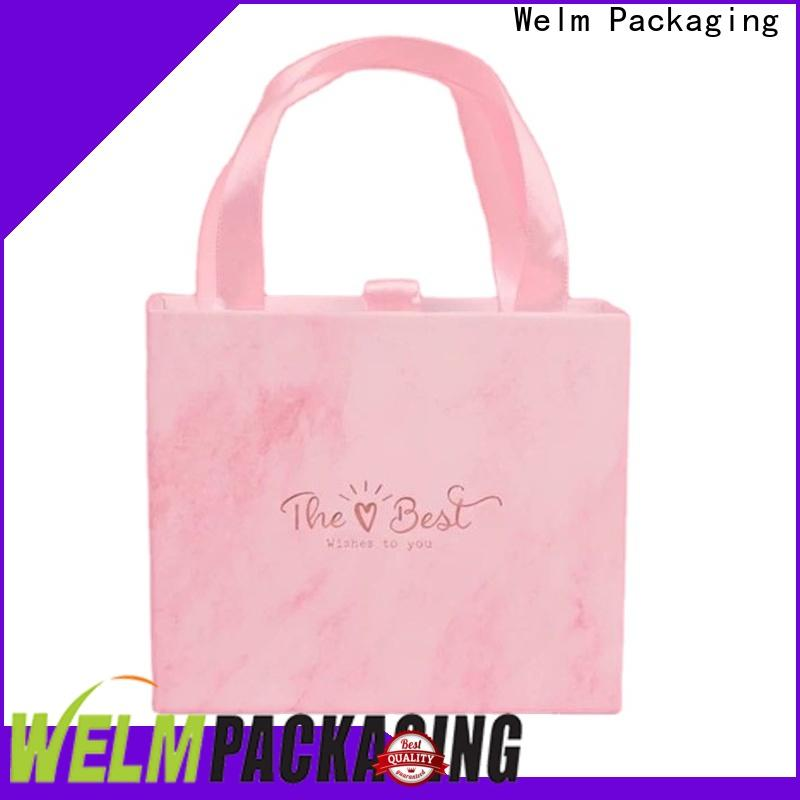 Welm gift gift boxes wholesale with window for lip stick