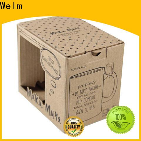Welm printed box packaging handmade for sale