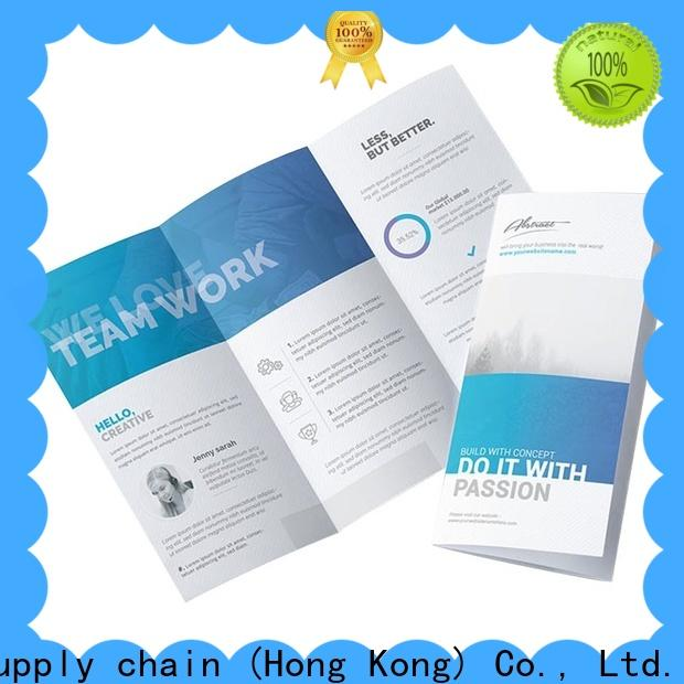 paper tri fold brochure printing services pamphlet factory online