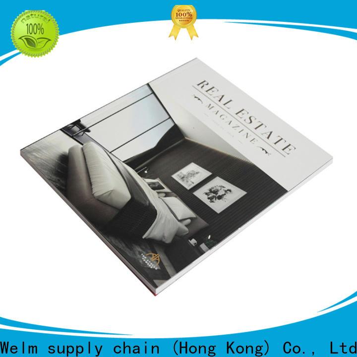 Welm supplies 3 panel brochure for sale