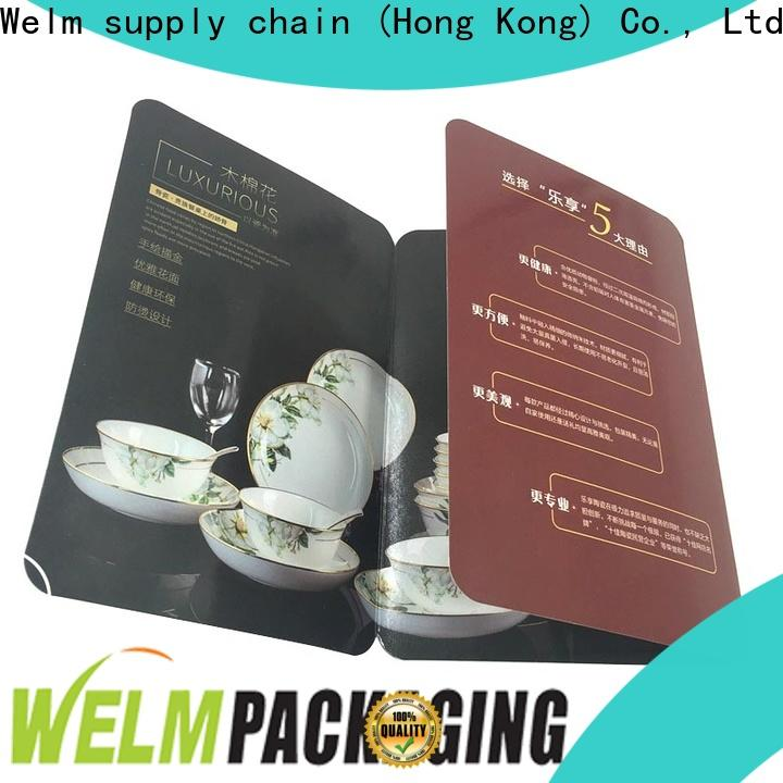 Welm coated bi fold brochure suppliers for sale