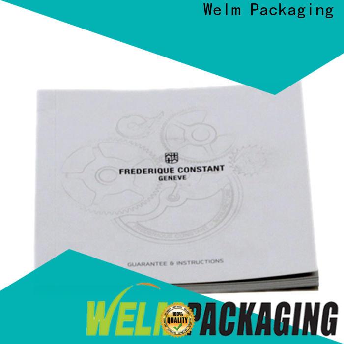 Welm new matte brochure paper manufacturers online