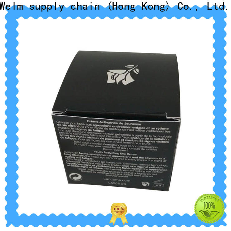 Welm best metal cosmetic tins suppliers for tempered glass packing