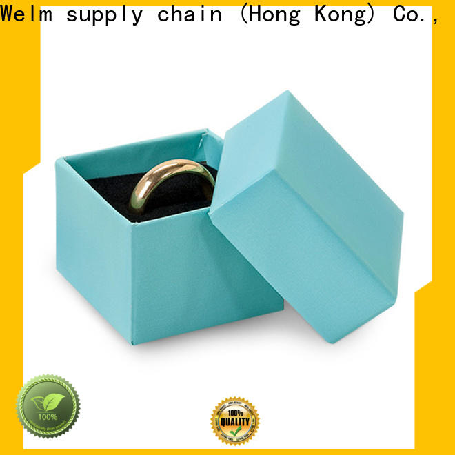 Welm closure jewellery gift box necklace logo for food