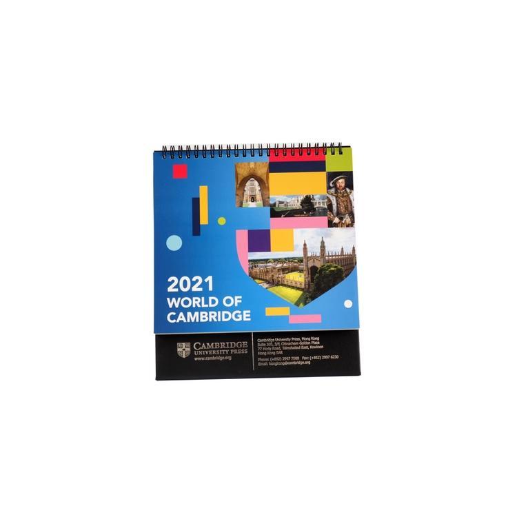 Custom new year paper printing service calendar paper printing