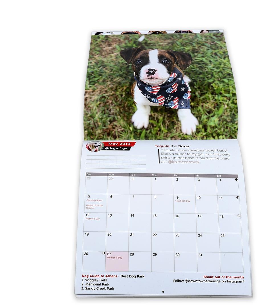 Custom Printing Large Size Art Paper Chinese Wall Calendar