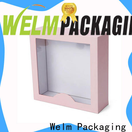 Welm product gift box pillow for food