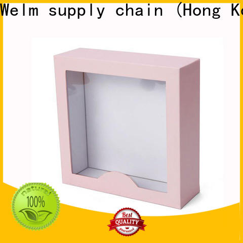 Welm best cheap packaging boxes supply for gifts
