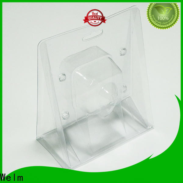 round biodegradable food packaging blister tray liner for cosmetics and toy