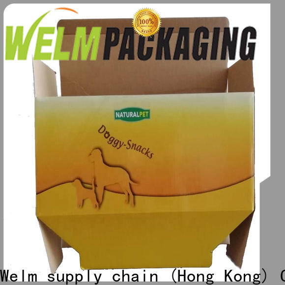 Welm materials unique food packaging for sale