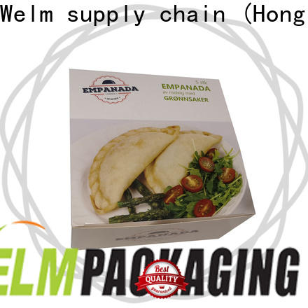 Welm materials cardboard catering boxes company for pet food