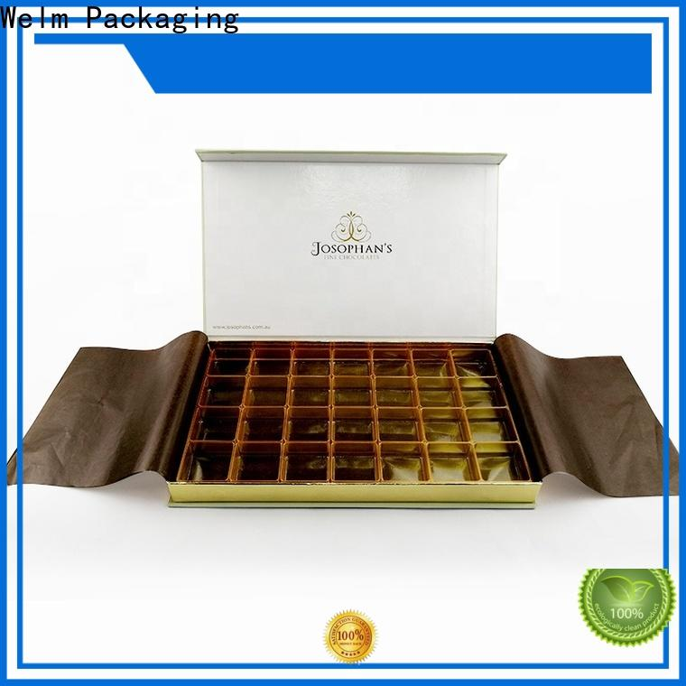 Welm latest custom packaging boxes wholesale manufacturer for gifts