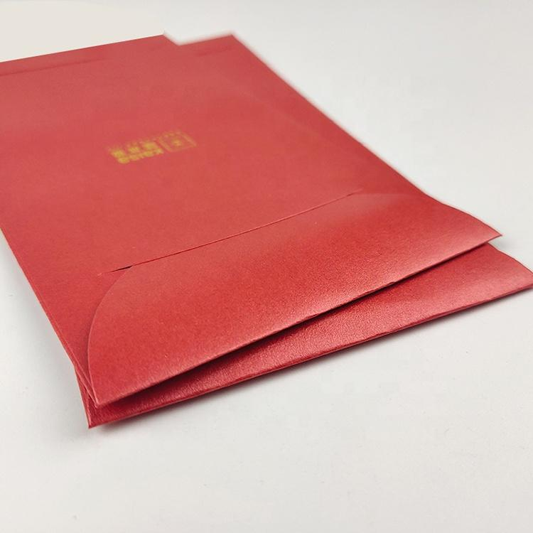 Custom Print Red Packet Chinese New Year Traditional Red Pocket