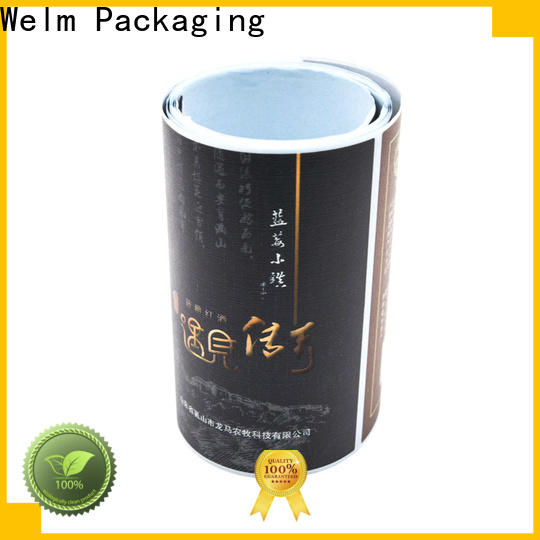 Welm customised order printed labels for business for bottle