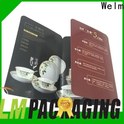 Welm latest low cost brochure printing of watches for business