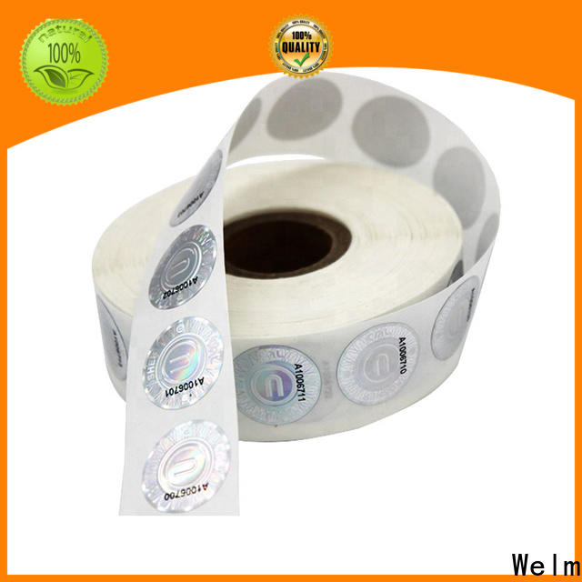 Welm labels price tag labels stickers factory for bottle