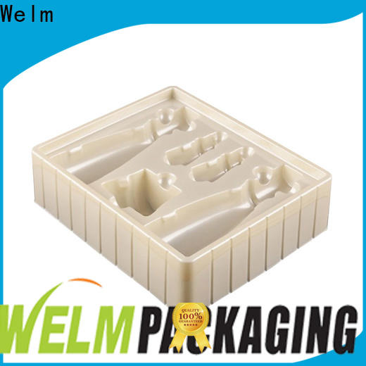 Welm cosmetic cold seal blister packaging tray liner for mouse packaging