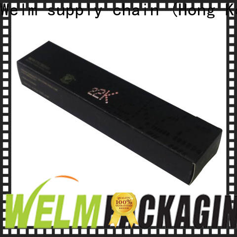 Welm box eyeshadow packaging suppliers factory for lip stick