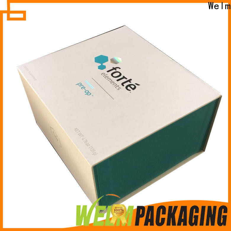 Welm recycle box packaging handmade for sale