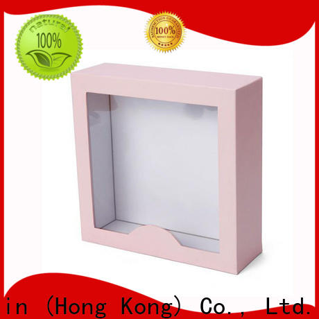 Welm pink packaging box supplier manufacturer for gifts
