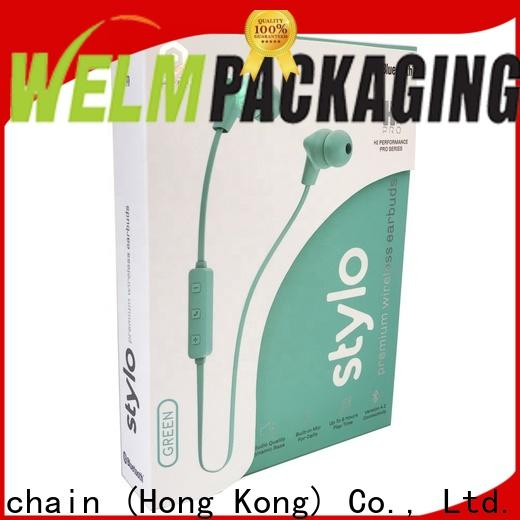 Welm rectangular Electronics packaging box for power bank