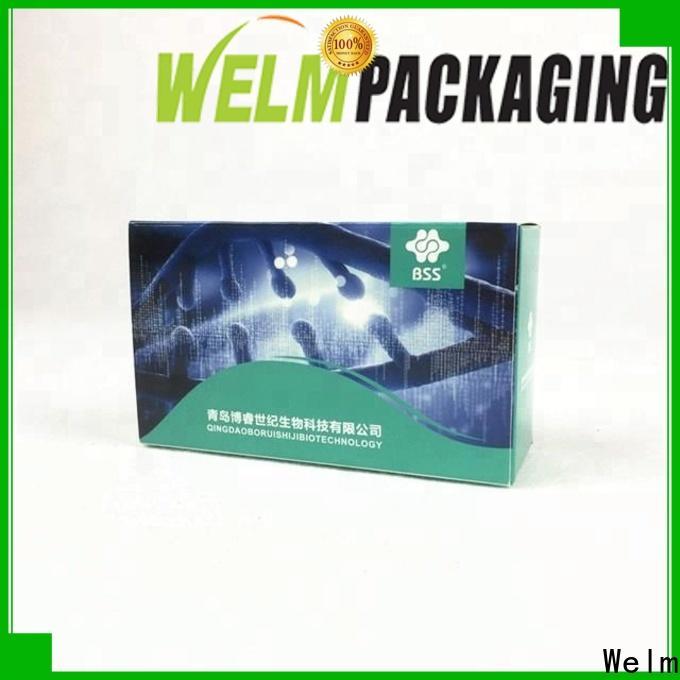 standard paper box packaging bottle online for blood glucose test strips