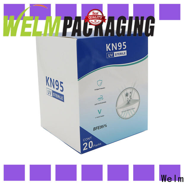Welm custom medicine packaging material supply for facial cosmetic