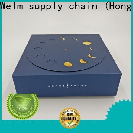 Welm top printed packaging boxes online for power bank