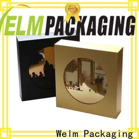 Welm new wholesale packaging boxes supplier for power bank