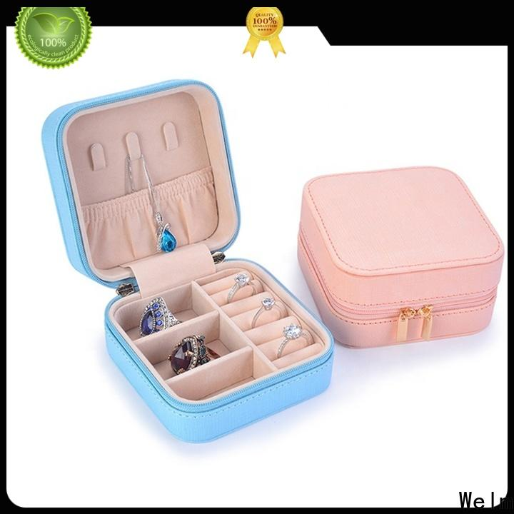 Welm magnetic necklace jewelry boxes wholesale with thank you stickers for children toys