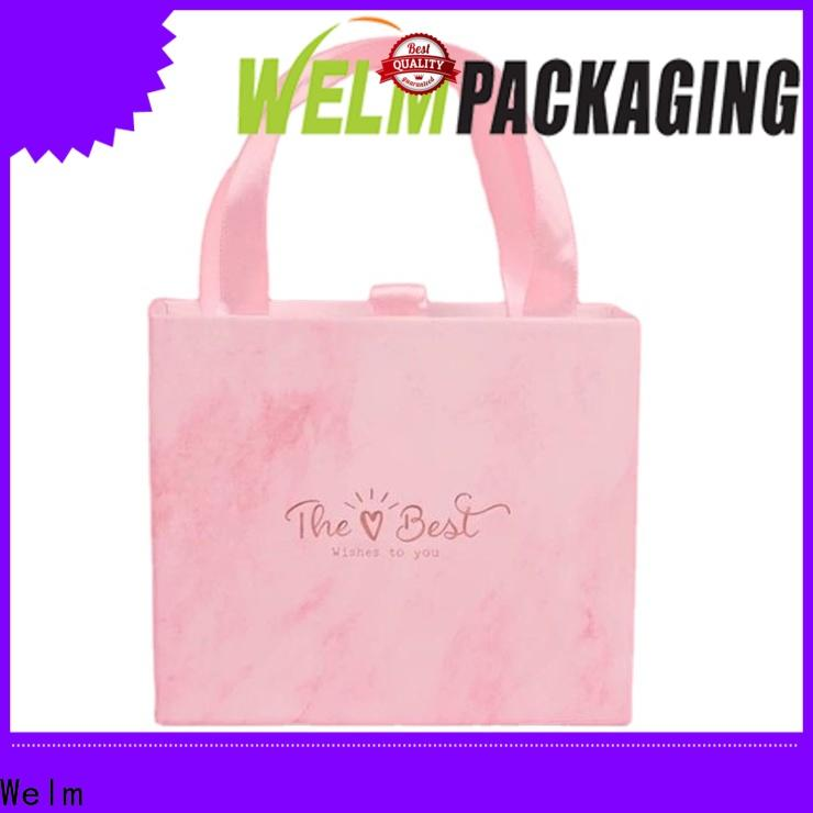 Welm ribbon gift boxes wholesale jewelry for lip stick