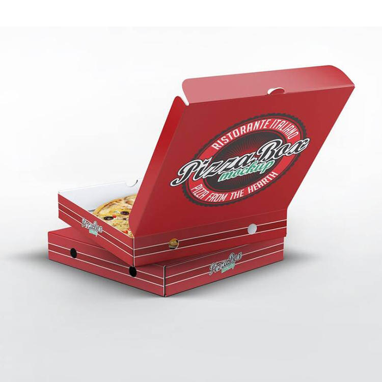 Hong Kong Custom various size portable printing pizza packaging box reusable corrugated delivery pizza box For Packaging Oem With Good Price-Welm