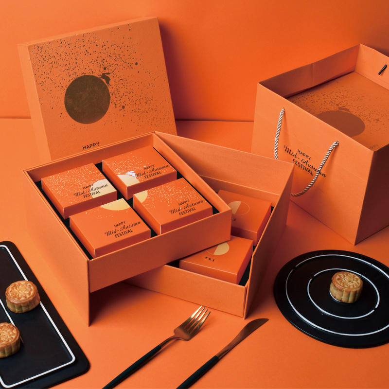 Package design luxury mooncake gift packing box packaging gift boxes original package design from HongKong WELM