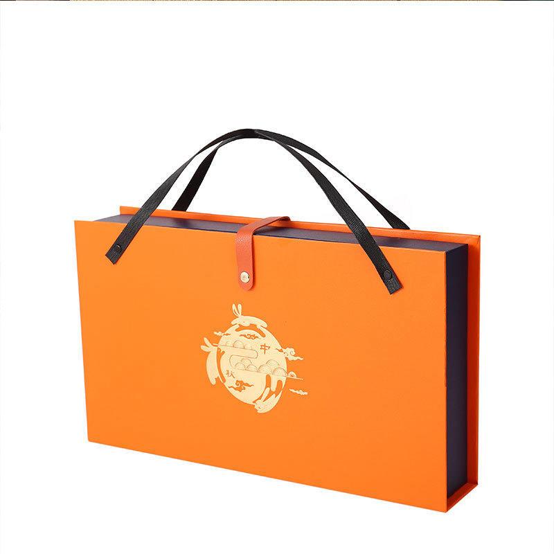 Hong Kong supplier high-end custom printed logo luxury packaging moon cake box gift