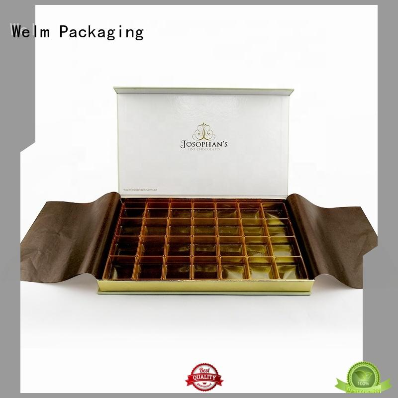 Welm box product packaging boxes supply for gifts