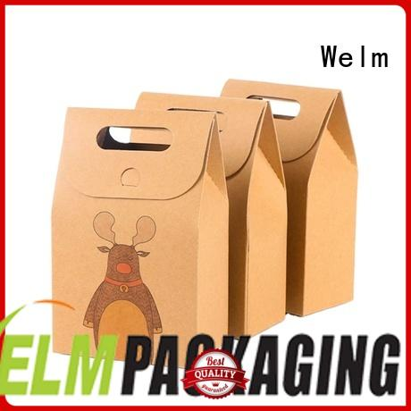 Welm pp paper tote logo for sale