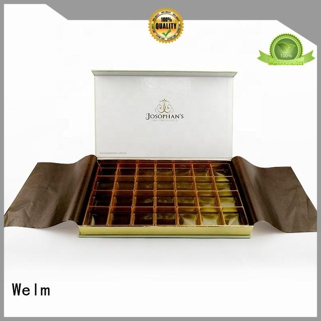 Welm luxury wholesale packaging boxes fast delivery for gifts