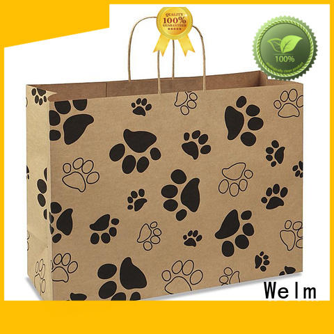 Welm top buy paper shopping bags supply for shopping