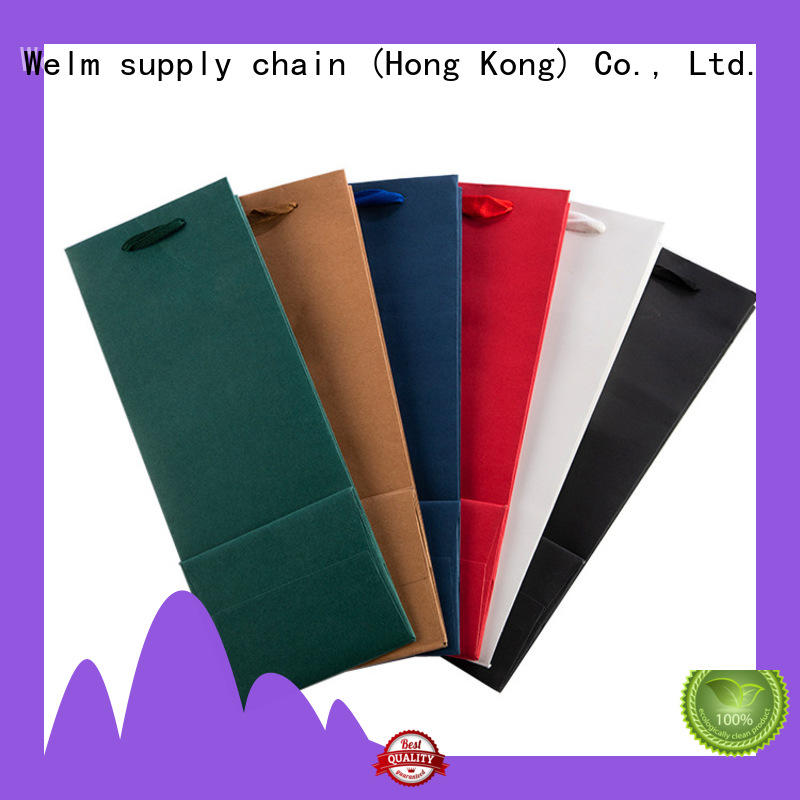 Welm latest fancy paper bags design factory for sale