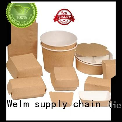 Welm customized food carton box manufacturers for food
