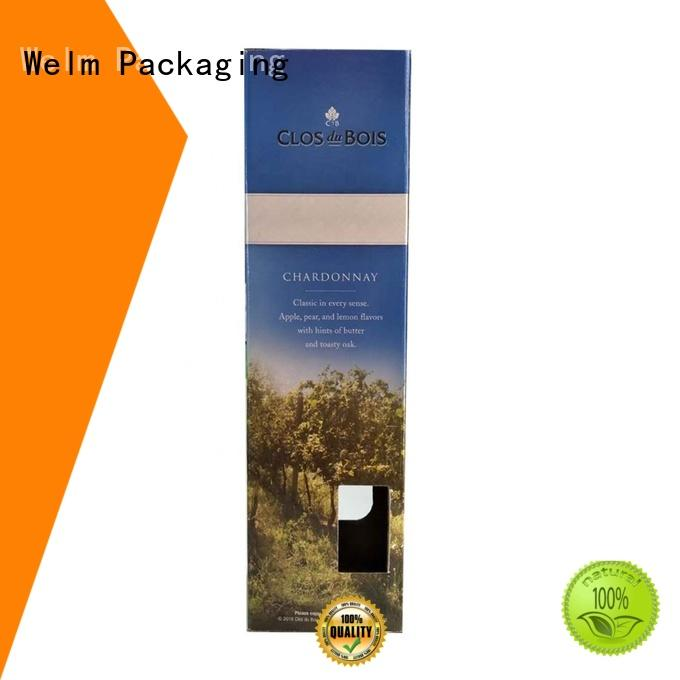 Welm cartons pharmaceutical pill packaging supplier for facial cosmetic