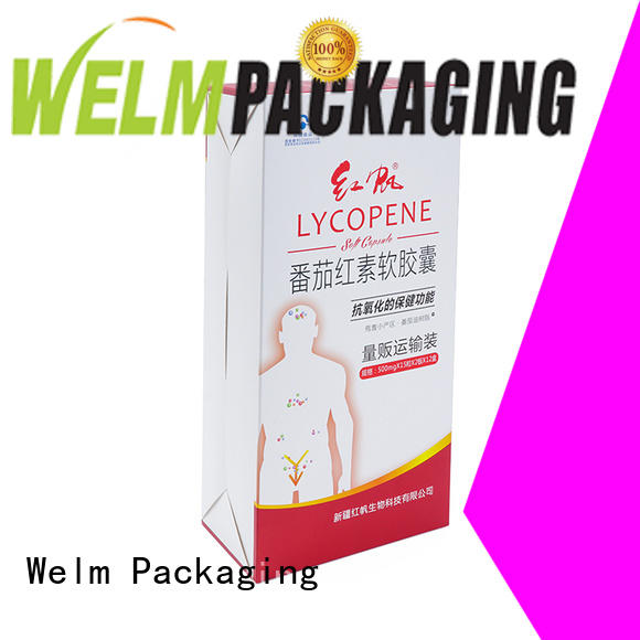 Welm standard secondary packaging materials for pharmaceuticals suppliers for facial cosmetic