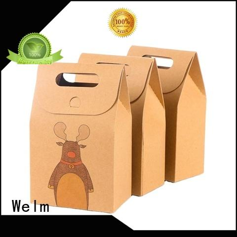 Welm popcorn paper grocery bags bulk manufacturers for sale