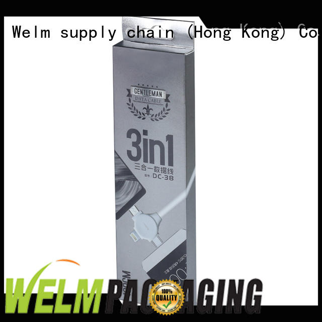Welm superior quality electronics packaging design online for power bank