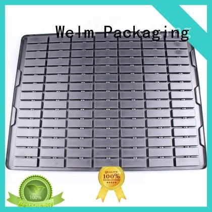 Welm vacuumed plastic blister packaging candle mold for mouse packaging