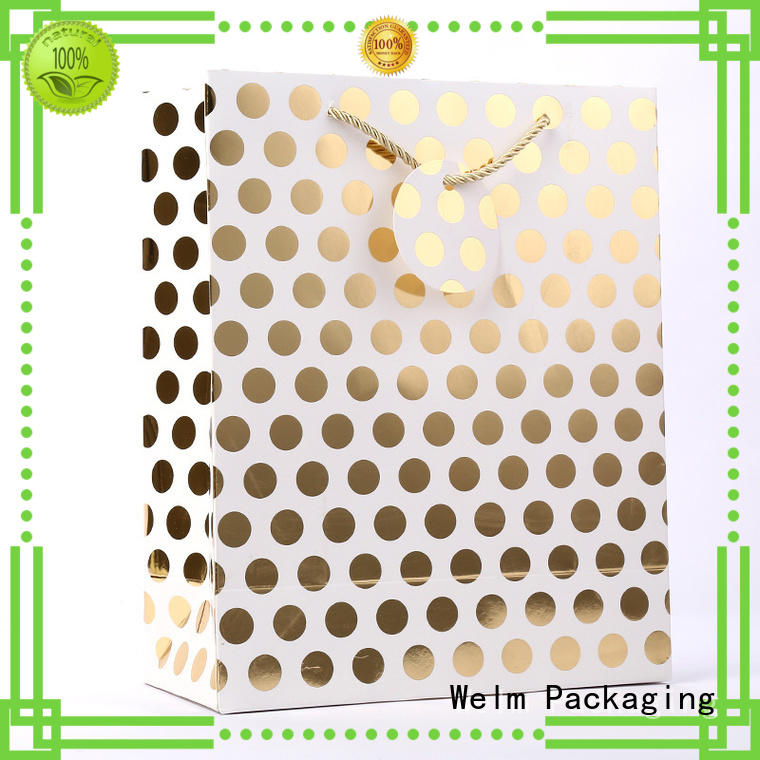Welm black brown bags in bulk manufacturers for gift shopping